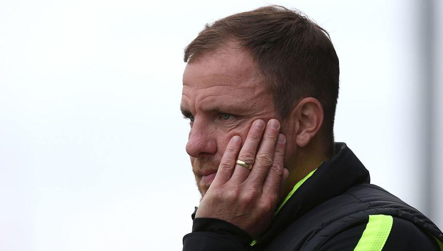 NORTHAMPTON, ENGLAND - OCTOBER 10: Hartlepool United assistant manager Sam Collins looks on during the Sky Bet League Two match between Northampton Town and Hartlepool United at Sixfields Stadium on October 10, 2015 in Northampton, England. (Photo by Pete Norton/Getty Images)